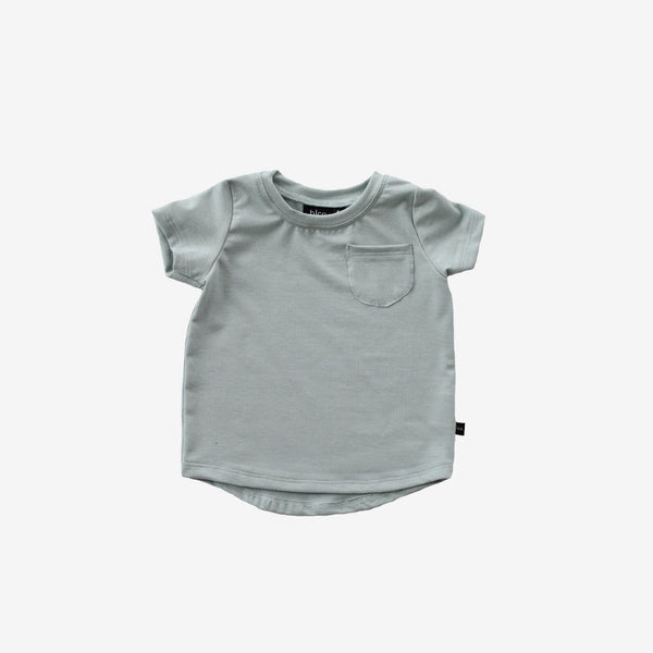 Bamboo Pocket Tee - Mist Green