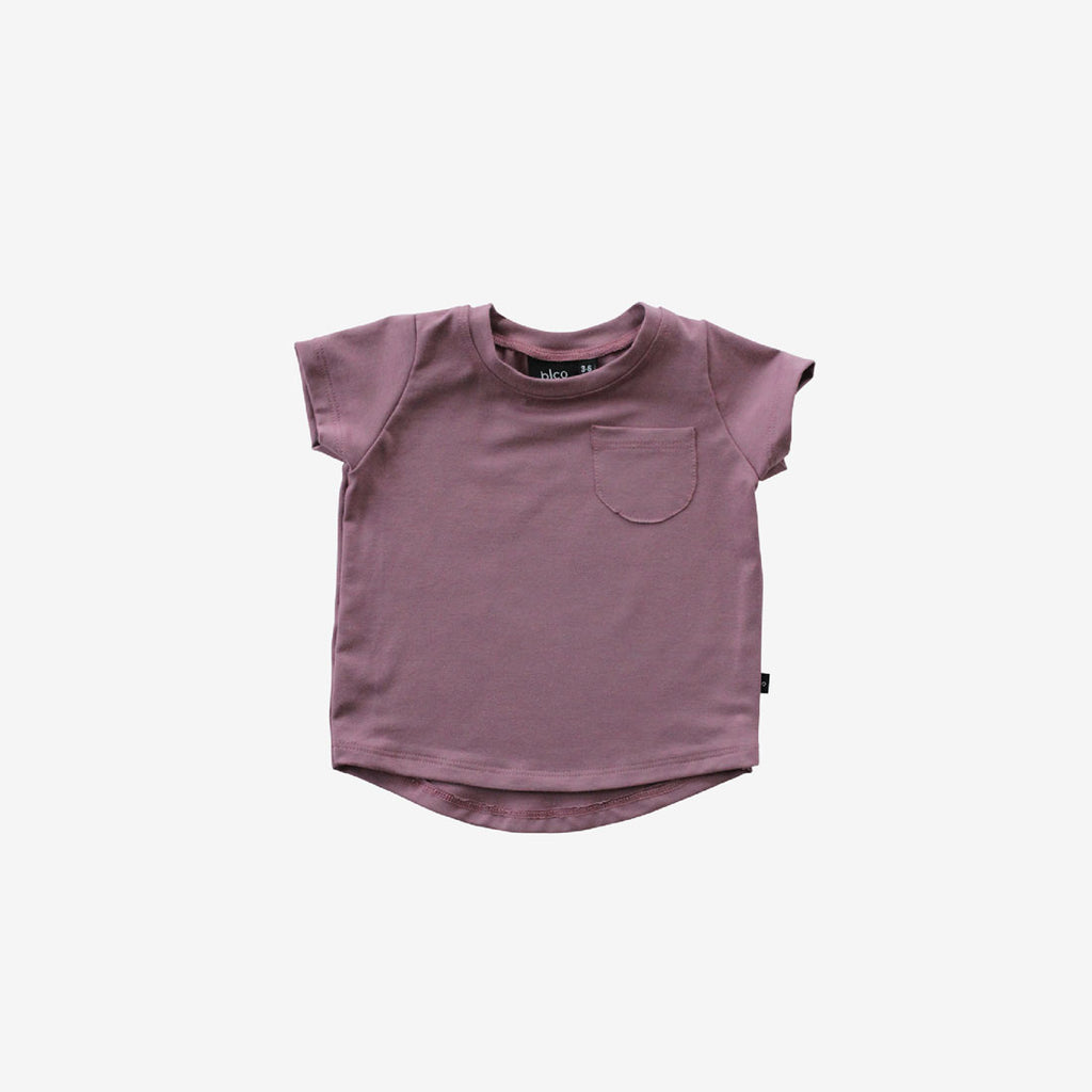 Bamboo Pocket Tee - Pickled Ginger