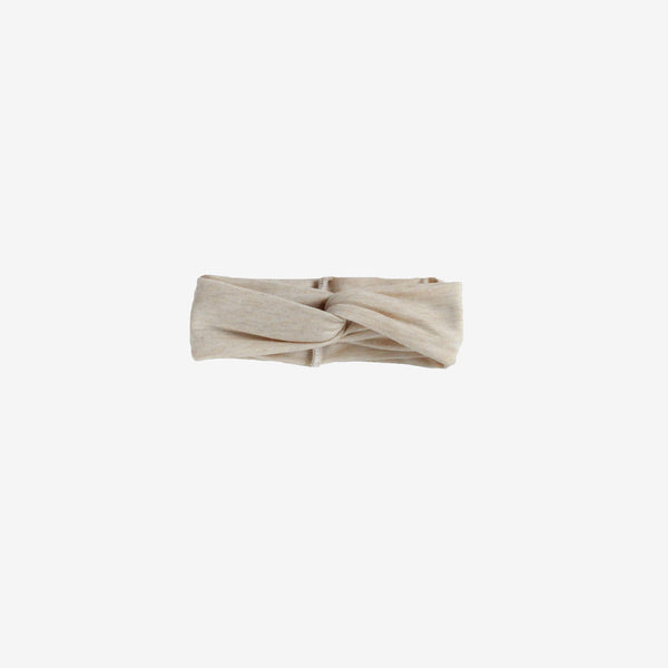 Bamboo Turban Headband - Almond Heather