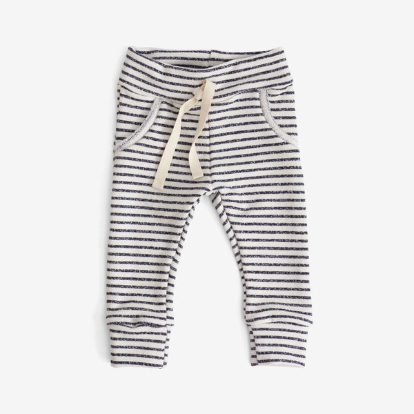 Jogger Sweats - Navy stripe