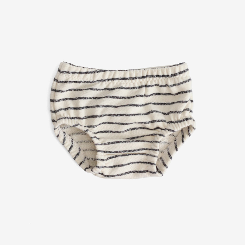 Terry Bloomers - Charcoal stripe