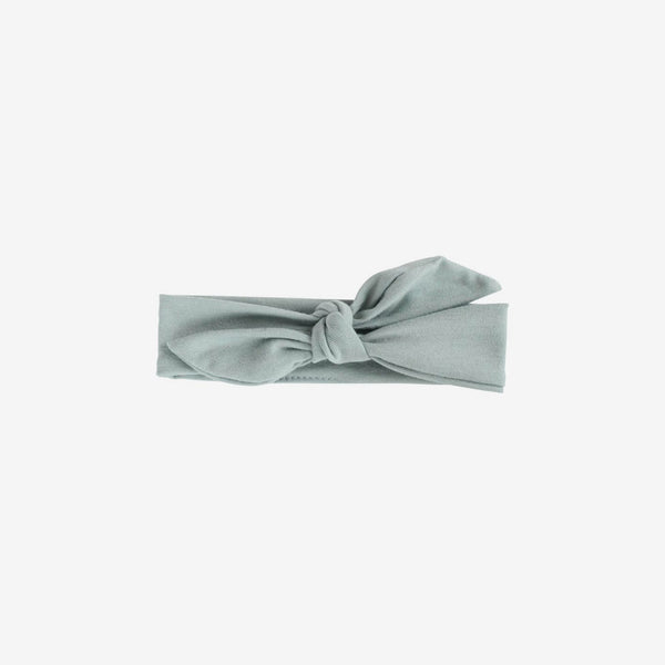 Bamboo Knotted Headband - Mist Green