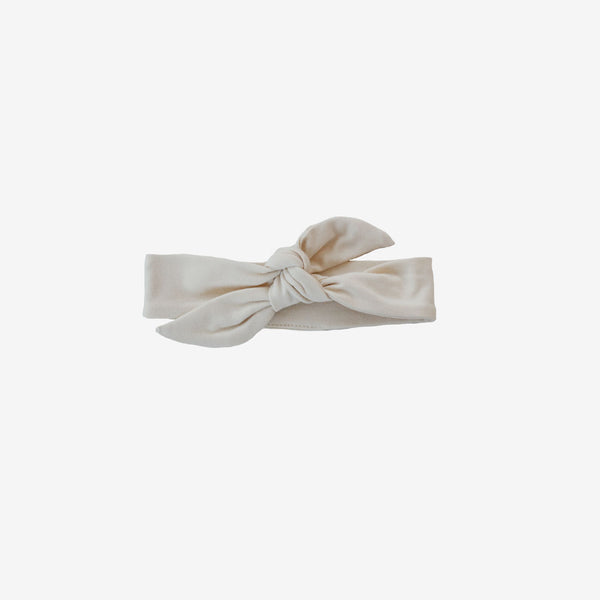 Bamboo Knotted Headband - Natural