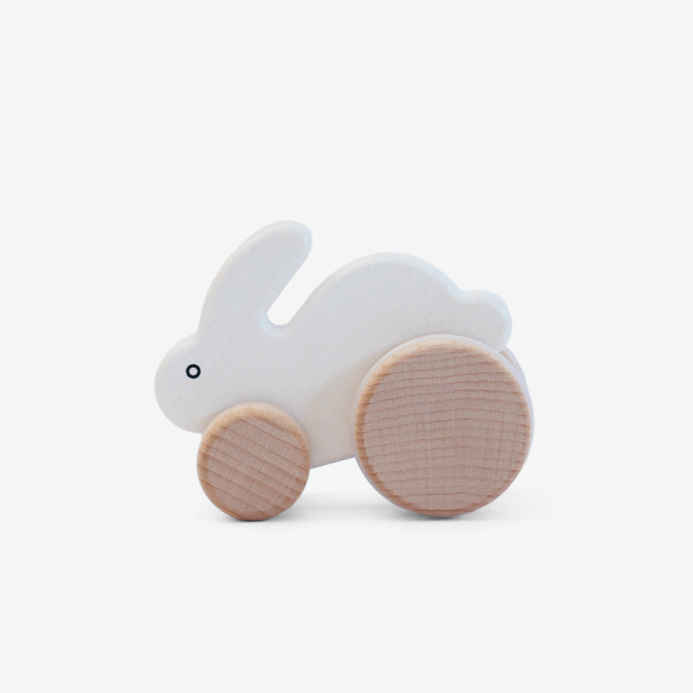 Little Rabbit Roller - White