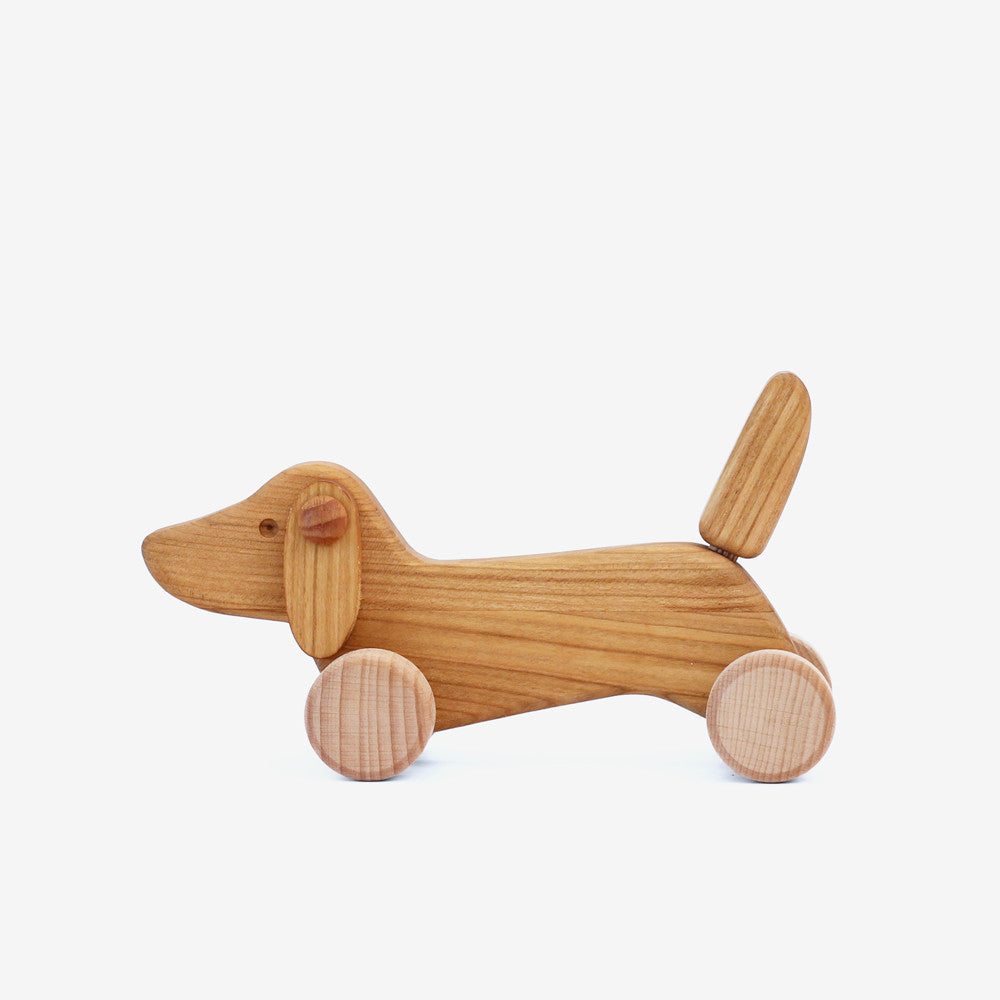 Dachshund Puppy Push Toy