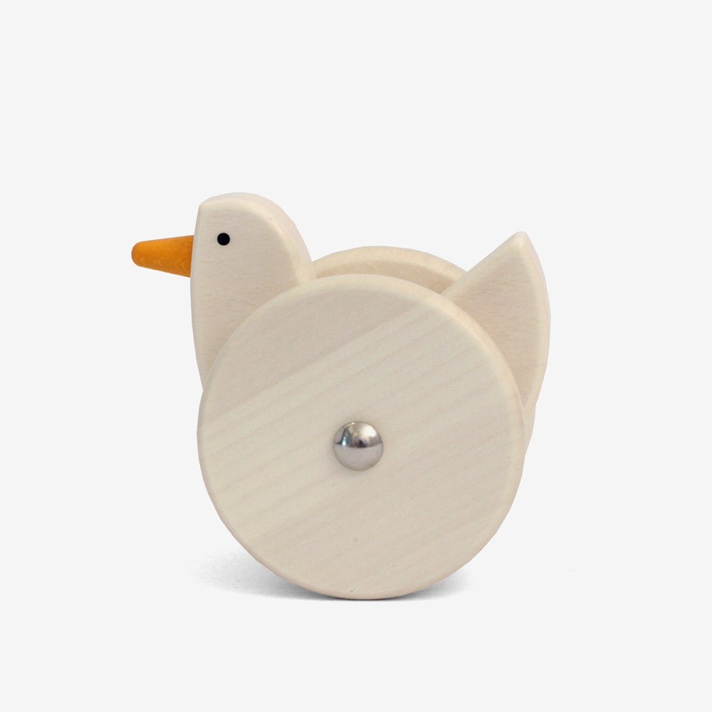 Wobbling Chicken Push Toy