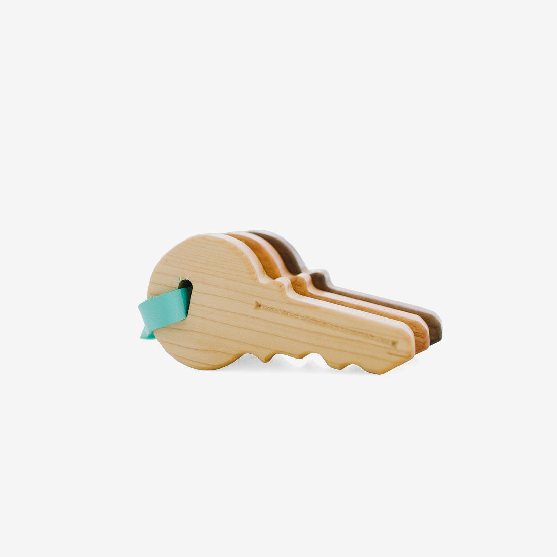 Hardwood Toy Keys