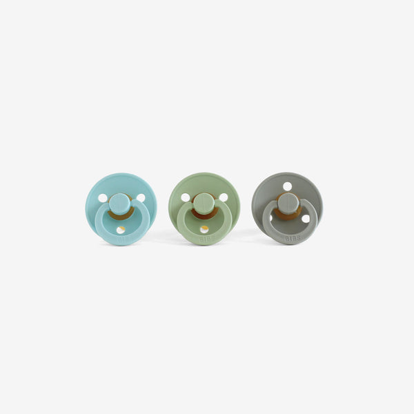 BiBS Pacifiers Set of 3 - Seafoam