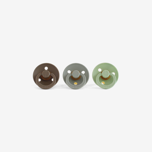BiBS Pacifiers Set of 3 - Camp