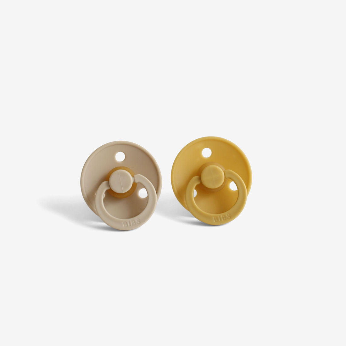 BiBS Pacifiers Set of 2 - Mustard