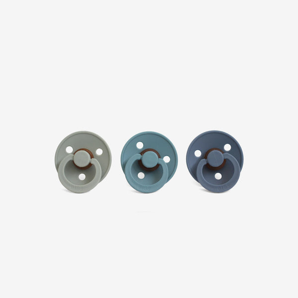 BiBS Pacifiers Set of 3 - Ocean