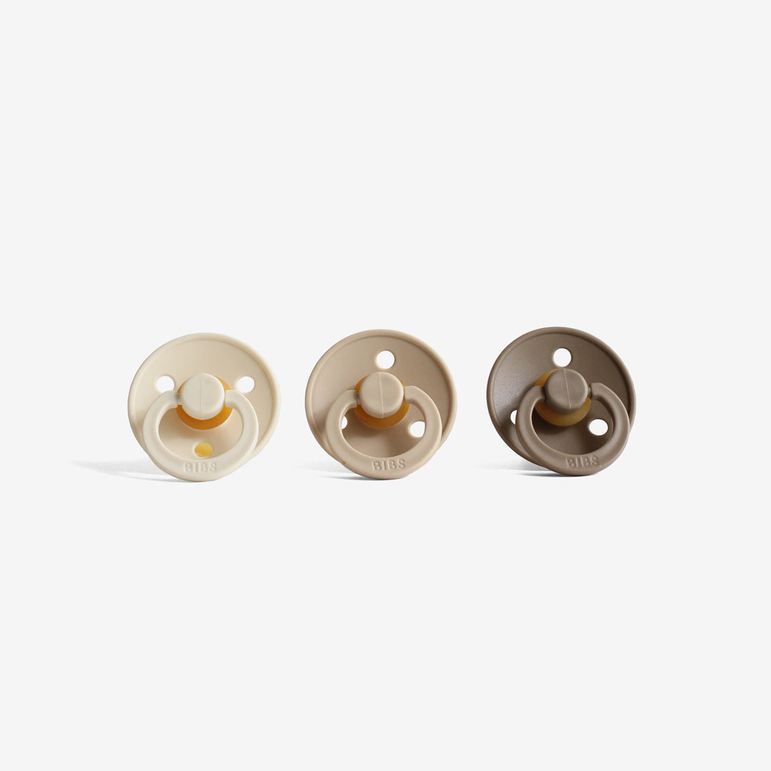 BiBS Pacifiers Set of 3 - Earth