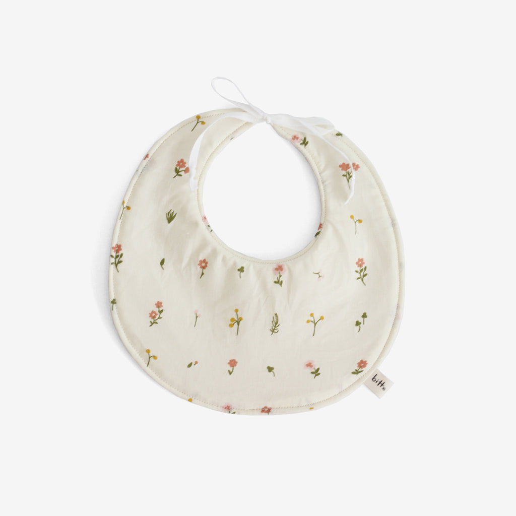 Organic Terry Baby Bib - Jenny Bloom