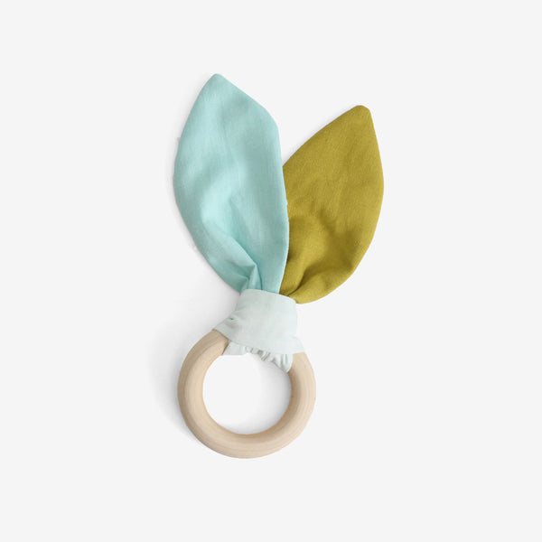 Bunny Ears Teether - Sea