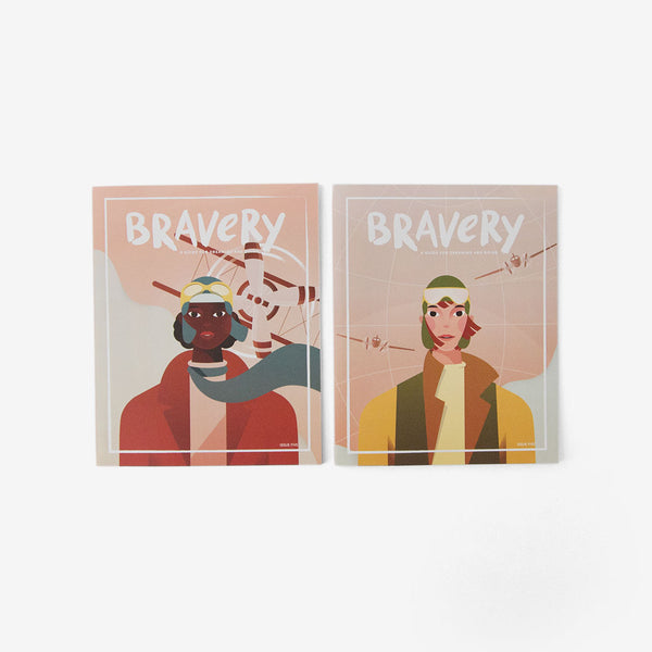 Bravery Issue #5 - Bessie Coleman & Amelia Earhart