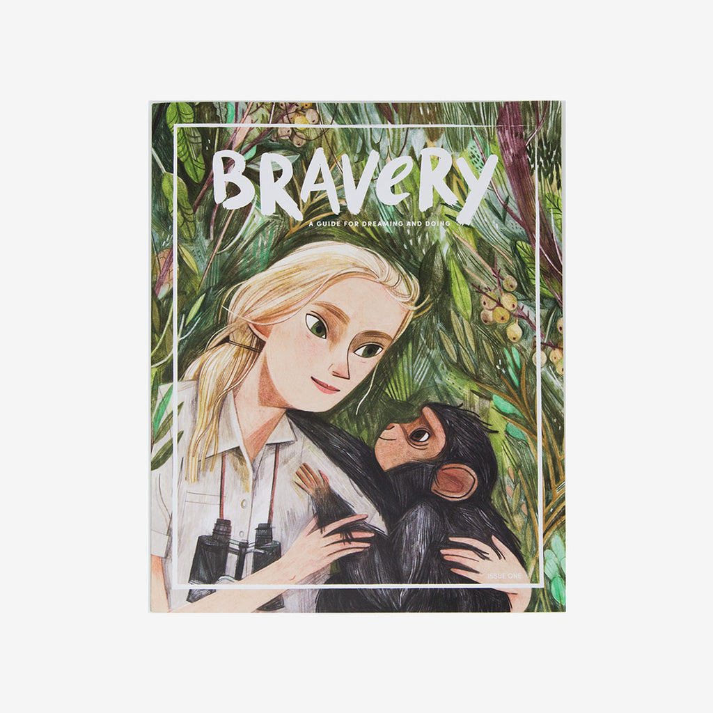 Bravery Issue #1 - Jane Goodall