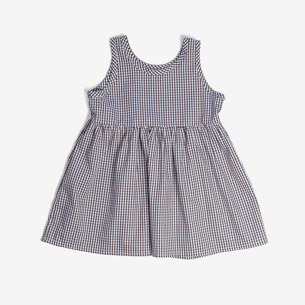 Play Dress - Walnut Gingham