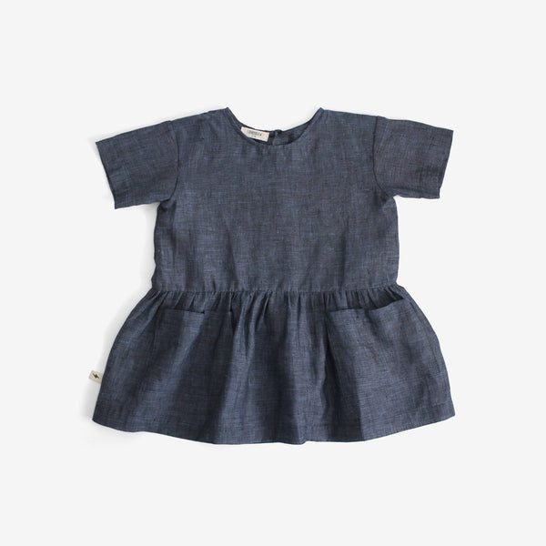 Blueberry Slouch Dress