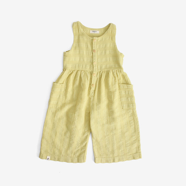 Crop Jumpsuit - Citron