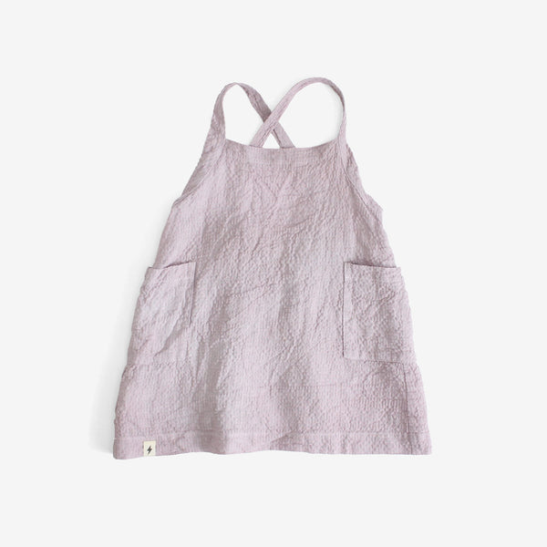 Lavender Apron Dress