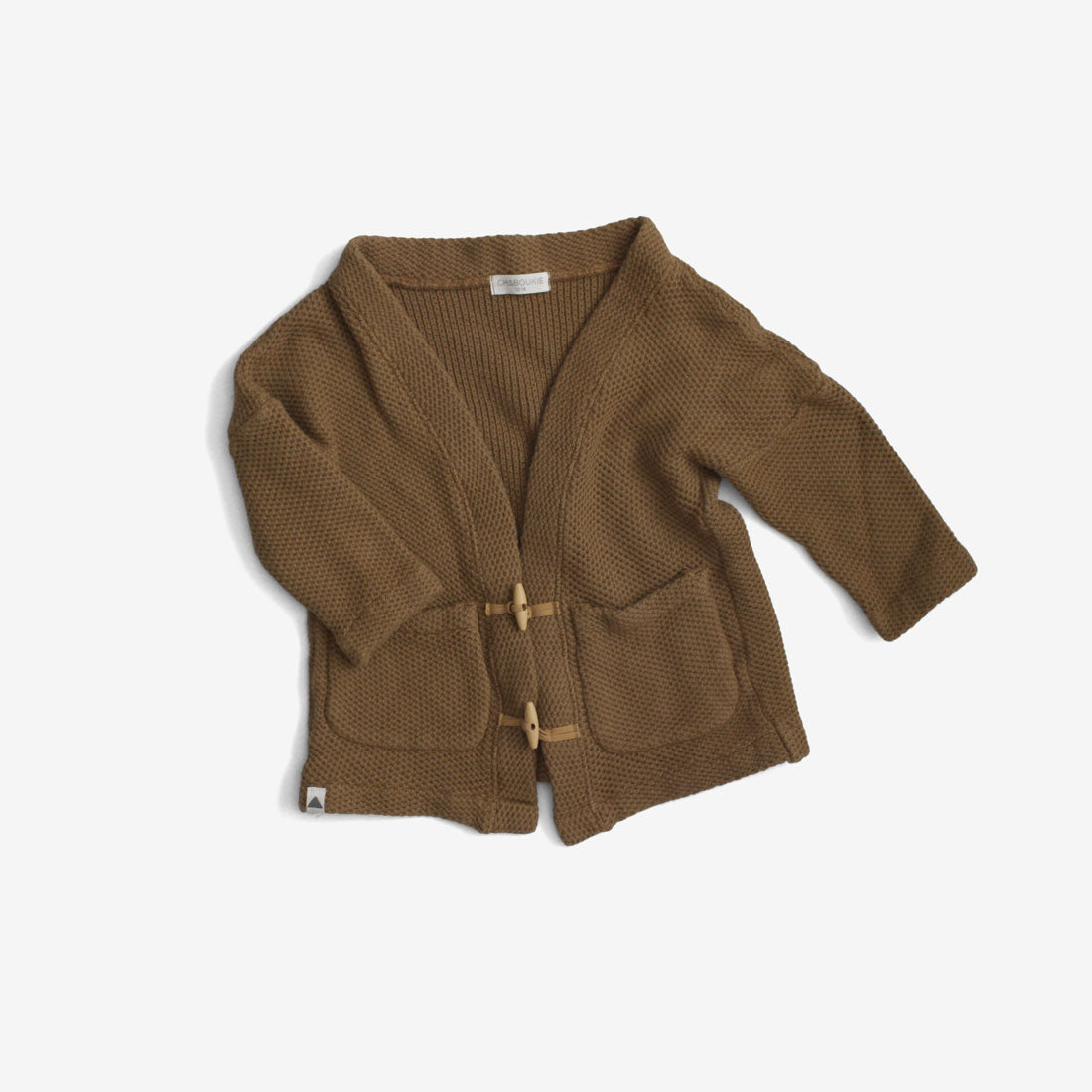 Toggle Cardigan Sweater - Bronze