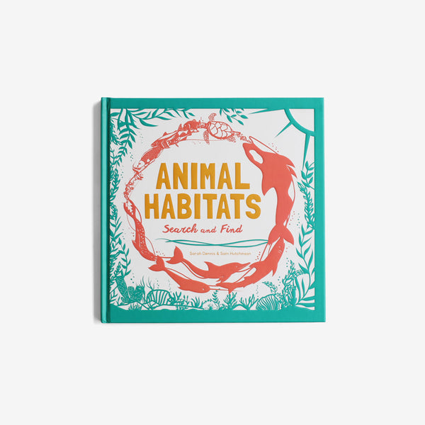 Animal Habitats - Search and Find