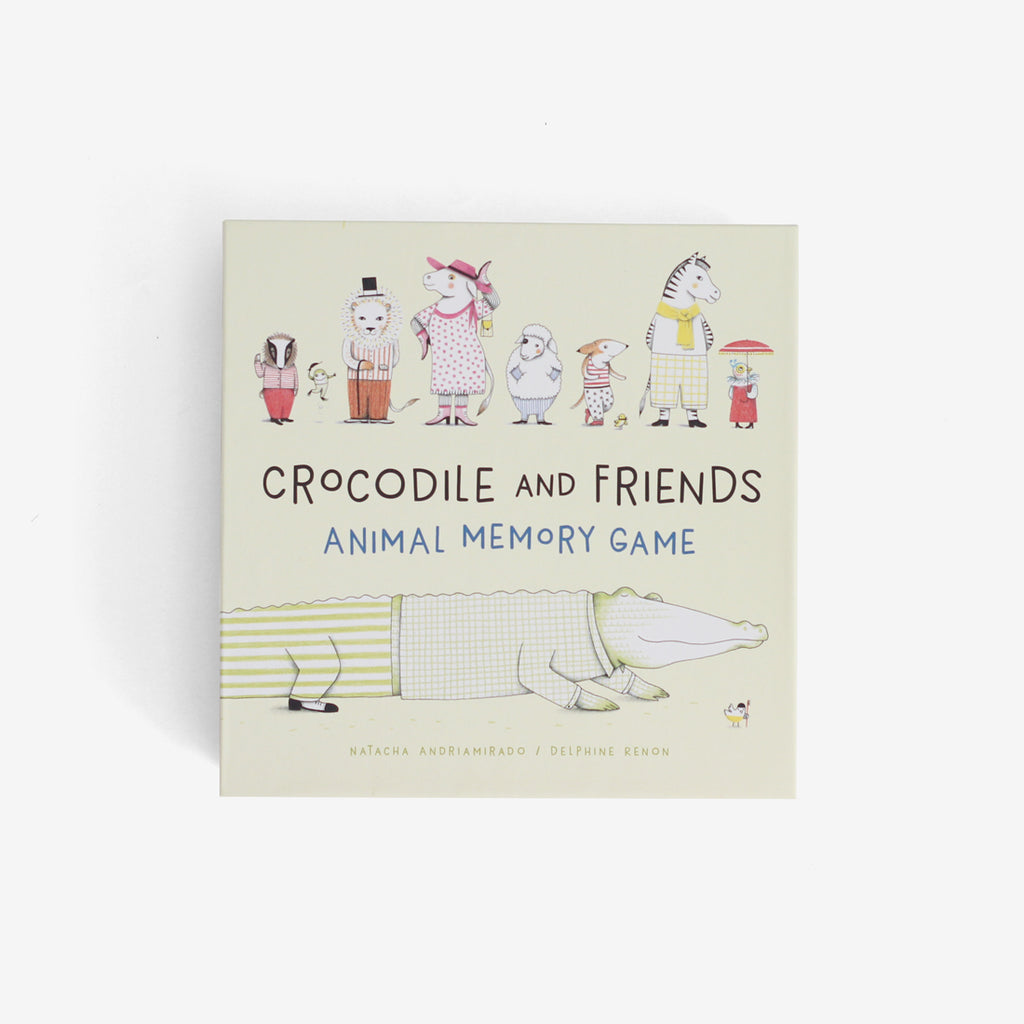 Crocodile and Friends Memo Game