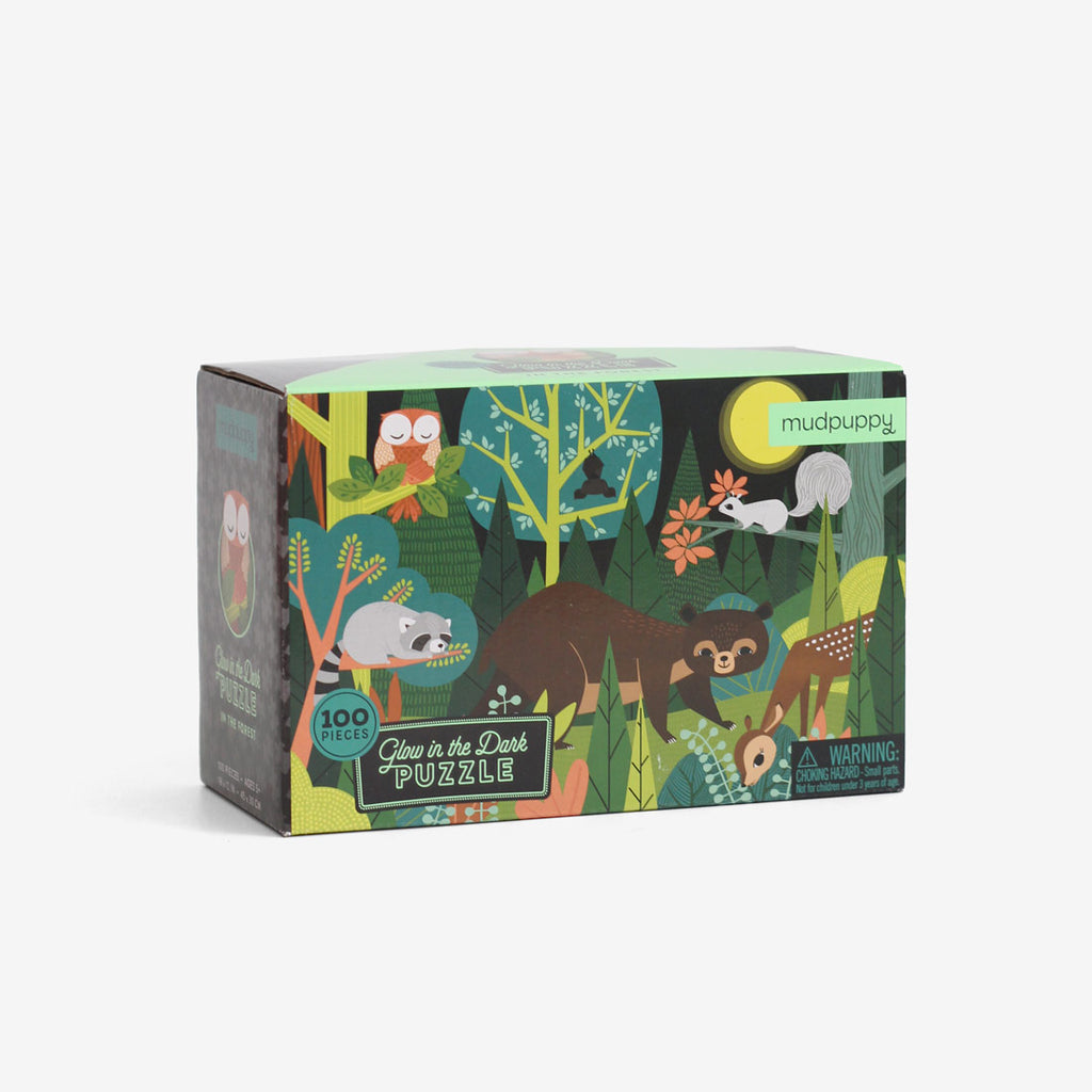 Glow-in-the-Dark Puzzle - Forest