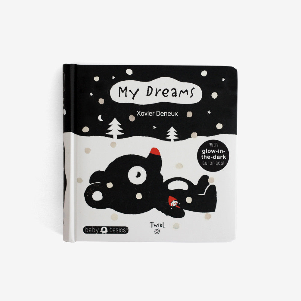 My Dreams Board Book - with glow-in-the-dark surprises