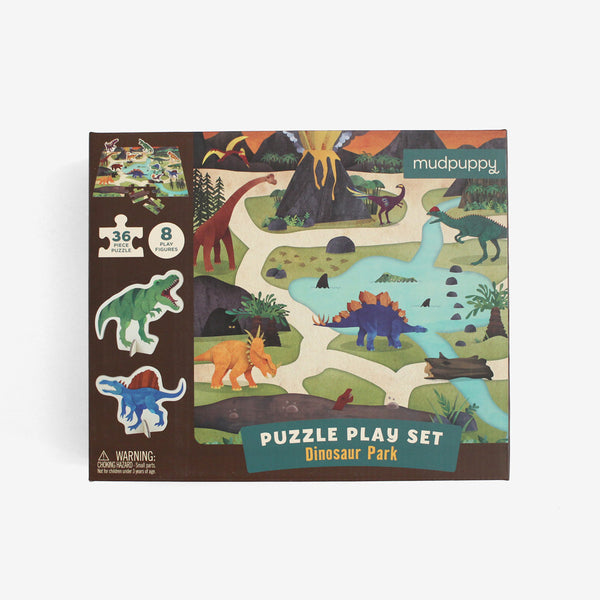 Dinosaur Puzzle Play Set