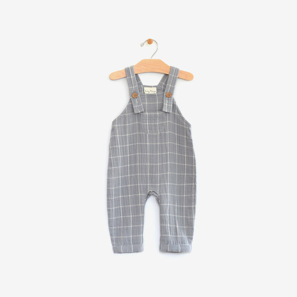 Organic Cotton Overall - Windowpane