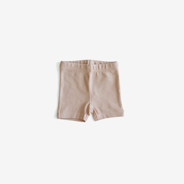 Organic Jersey Bike Short - Soft Peach