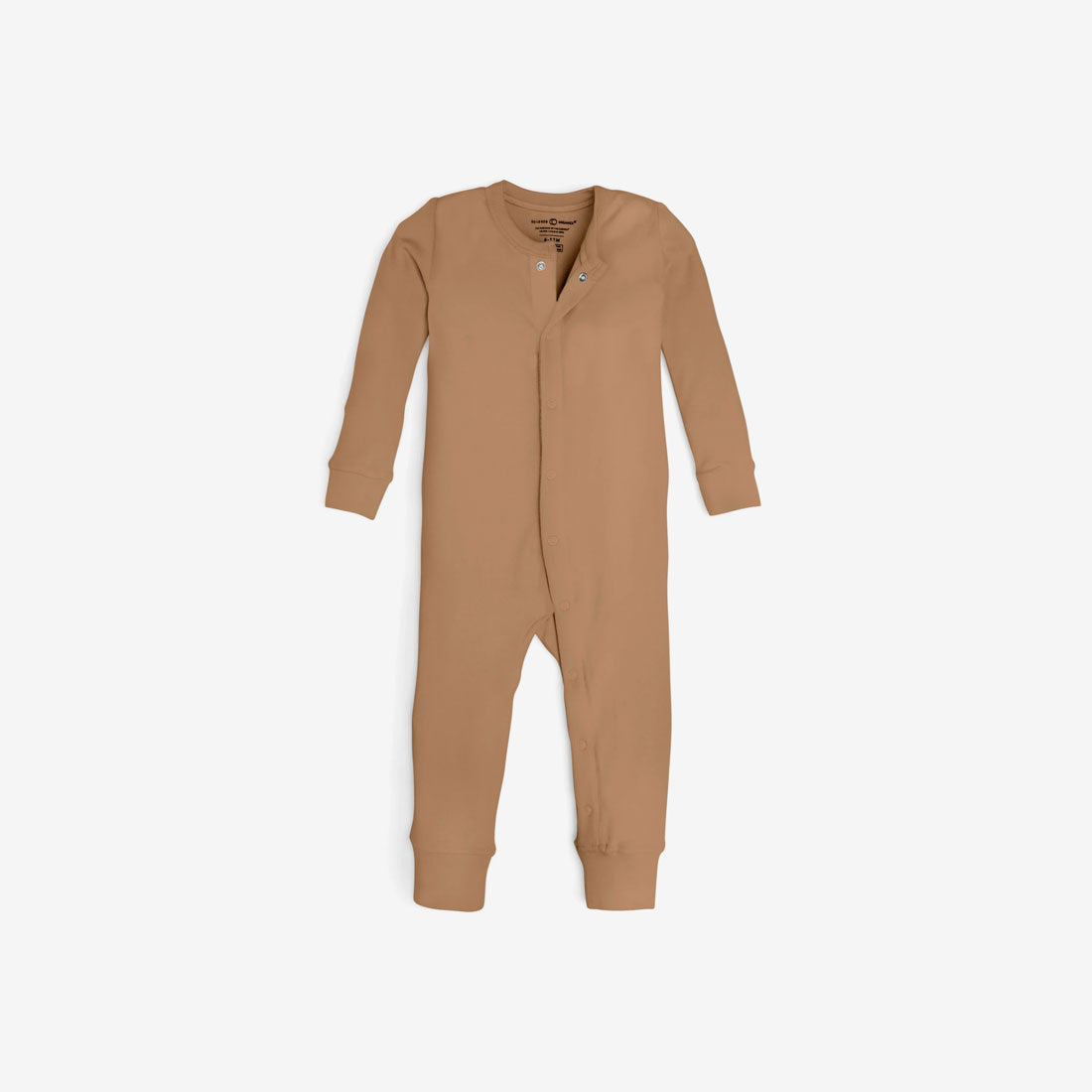 Emerson Organic Cotton Coverall Sleeper - Ginger