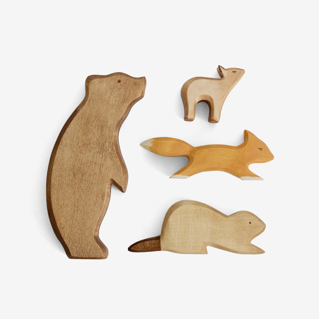 Waldorf Woodland Animals Set of 4