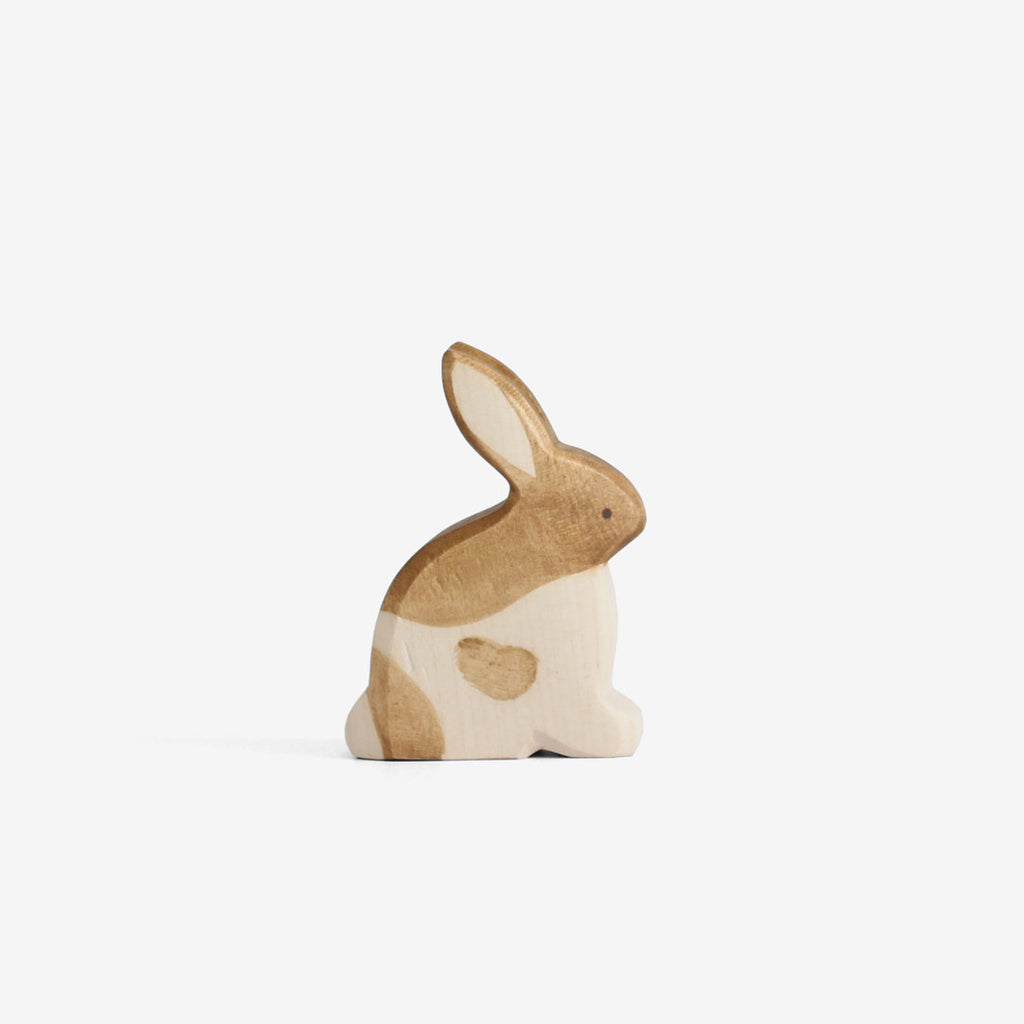 Waldorf Wooden Rabbits - Spotted