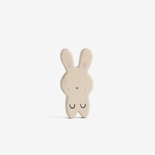 Japanese Kawaii Wooden Bunny