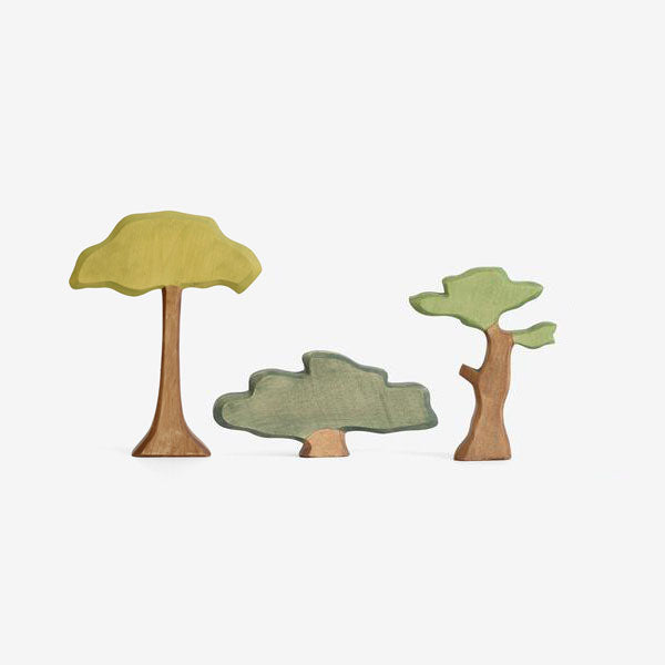 Waldorf Wooden Trees - Set A