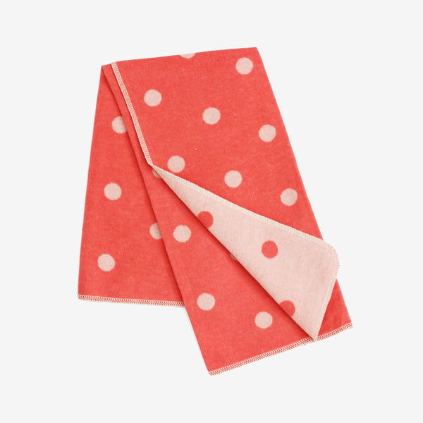 Polka Dot Stroller Blanket - Pinks