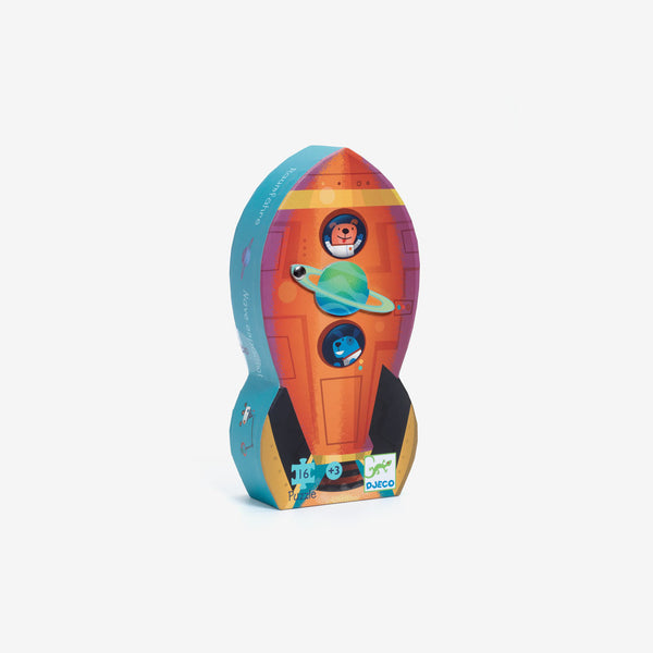 Mini 16-Piece Puzzle - Spaceship