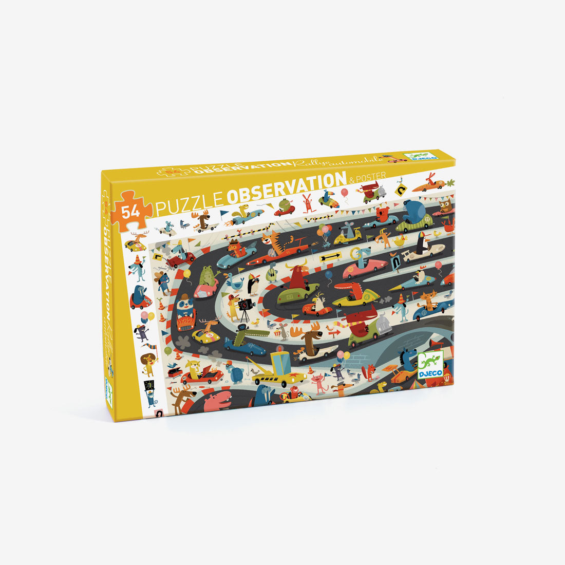 Observation Puzzle - 54-Piece Automobile Rally
