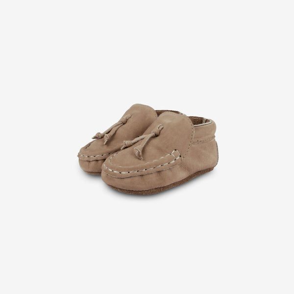 Bill Leather Baby Mocs - Truffle