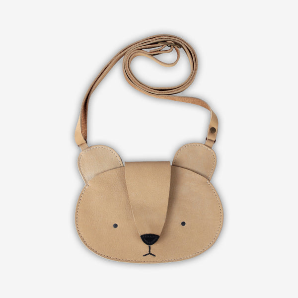 Britta Leather Bag - Bear