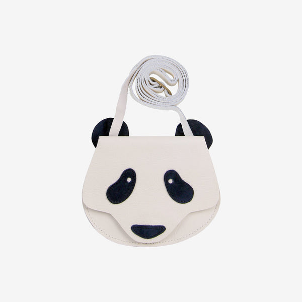 Britta Leather Bag - Panda