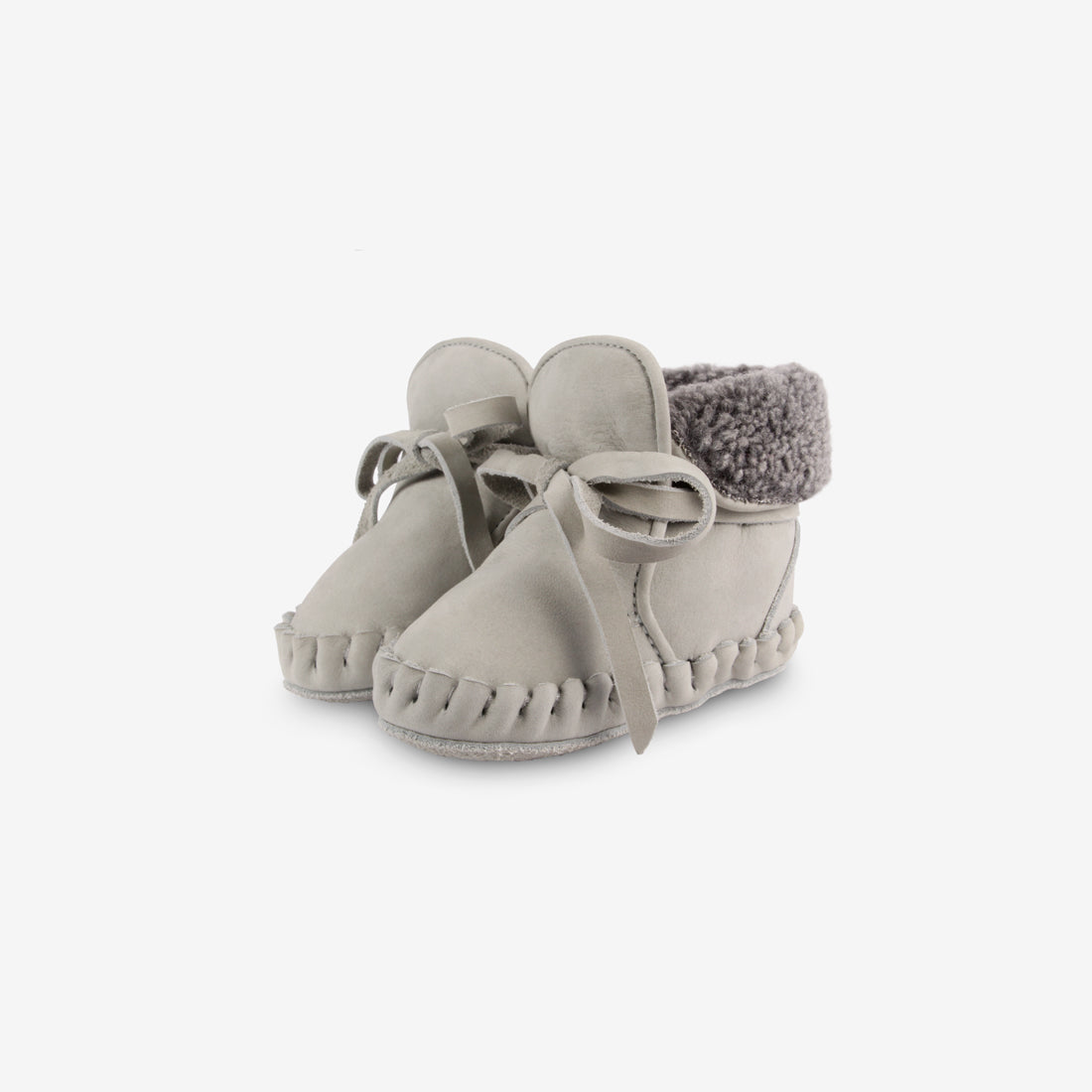 Jaya Shearling Leather Baby Boots