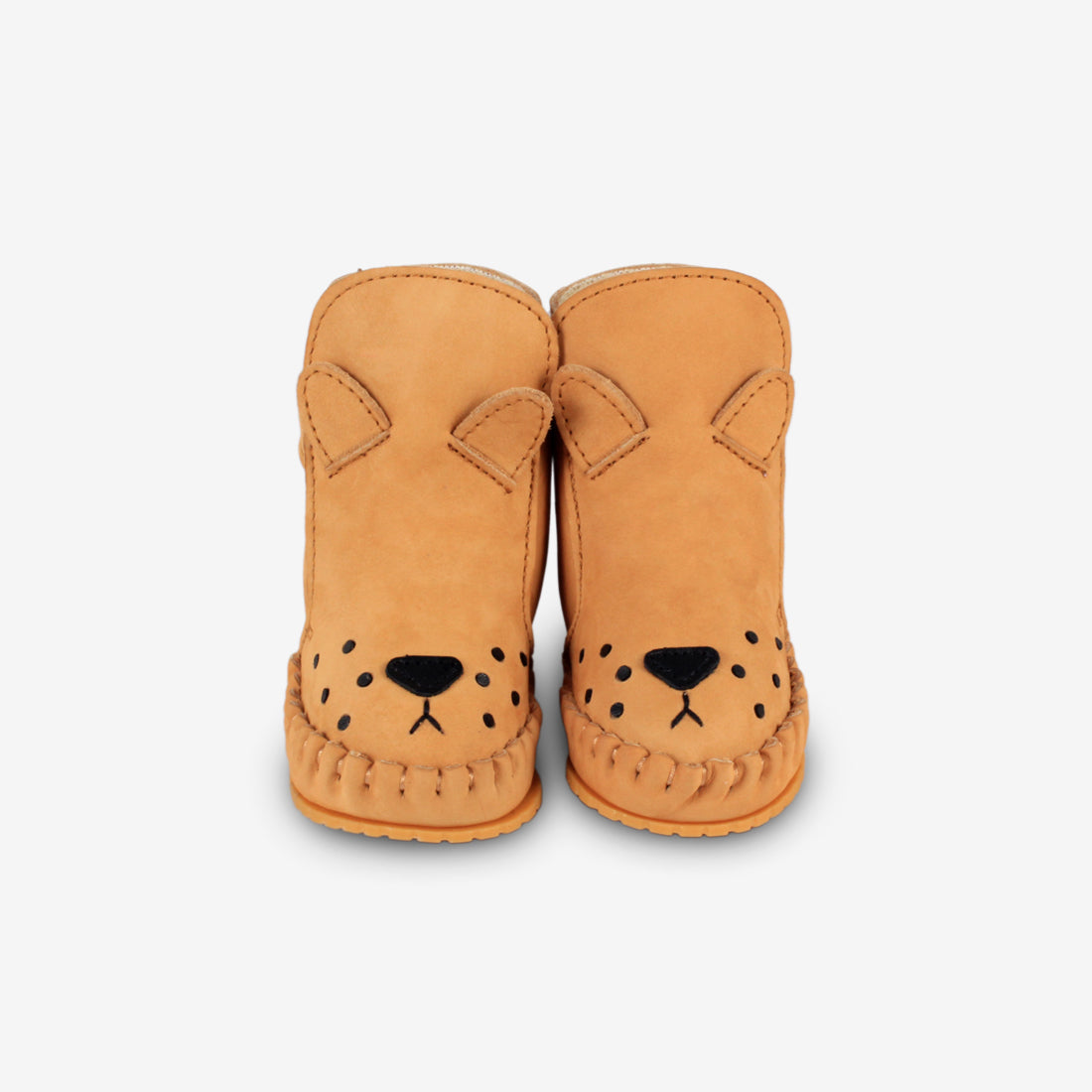KAPI Shearling Leather Baby Boots - Lion