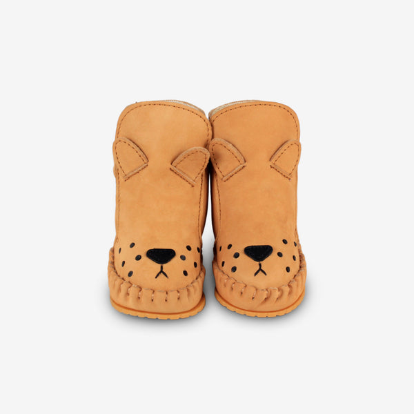 KAPI Leather Baby Boots - Lion