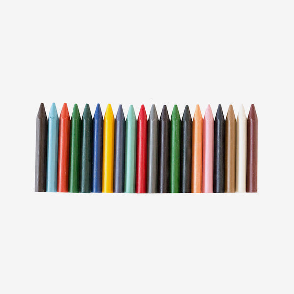 Eco-Crayons - Sticks 20-Pack