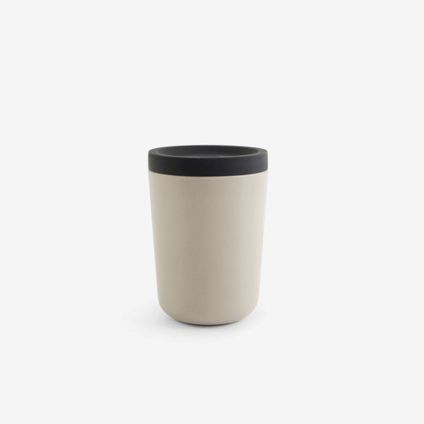 Nomad Reusable Bamboo Take-away Cup - Stone
