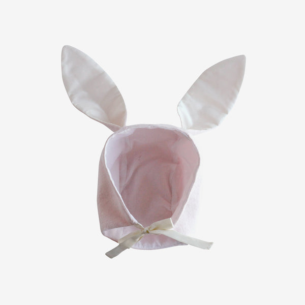 Brushed Flannel Bunny Bonnet