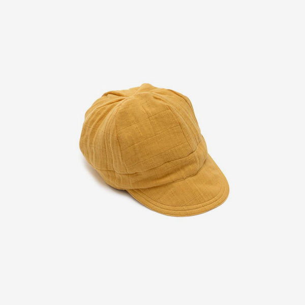 Newsboy Cap - Golden Mustard